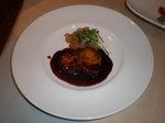夢の島マリーナ レストラン フォアグラ &きのこのサラダ (2).JPG